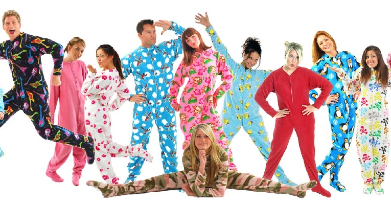 Where to Get Grown Folk Footed Pajamas. A couple weeks ago a friend's ...