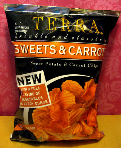 Sweet Potatoe and Carrot Chips | June's Journal image 1
