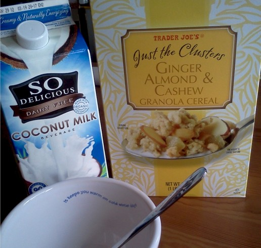 Ginger Almond & Cashew Granola with Coconut Milk | June's Journal image 3