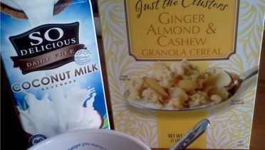 Ginger Almond & Cashew Granola with Coconut Milk   June's Journal image 3